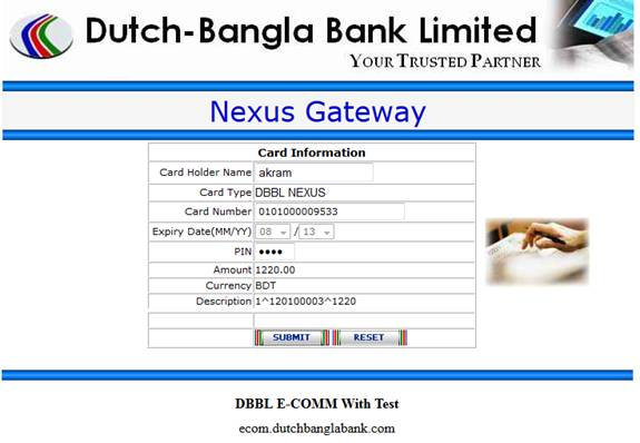 Dutch Bangla Bank | Internet Banking ::
